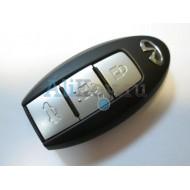 Infiniti smart ключ зажигания, 3 кнопки