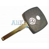 Mercedes заготовка ключа зажигания с местом под чип