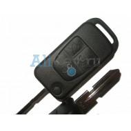 Mercedes корпус выкидного ключа зажигания, 3 кнопка
