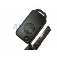 Mercedes корпус выкидного ключа зажигания, 1 кнопка