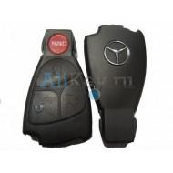 Mercedes корпус smart ключа зажигания, 3 кнопки+panic